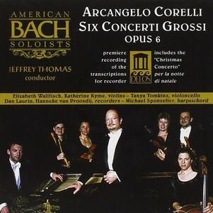 Concerti op.6 - CD Audio di Arcangelo Corelli