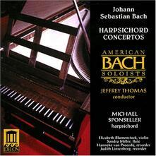 Concerti per clavicembalo - CD Audio di Johann Sebastian Bach