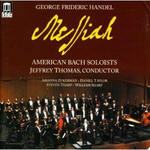 CD Messiah di Johann Sebastian Bach