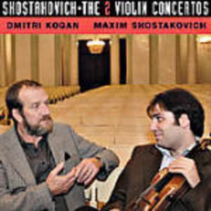 CD Concerti per violino n.1, n.2 di Dmitri Shostakovich