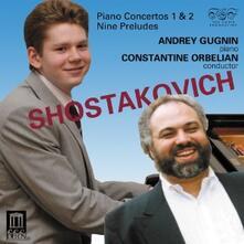 Concerti per pianoforte n.1, n.2 - CD Audio di Dmitri Shostakovich,Constantine Orbelian,Andrei Gugnin