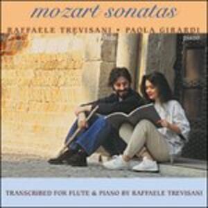 Sonate per Flauto K.296, 301, 376, 379 - CD Audio di Wolfgang Amadeus Mozart,Raffaele Trevisani