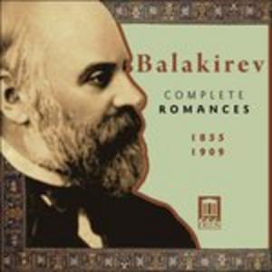 CD Integrale Delle Romanze di Mily Alexeyevich Balakirev