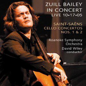 Foto Cover di Concerti per violoncello n.1, n.2, CD di Camille Saint-Saëns, prodotto da Delos