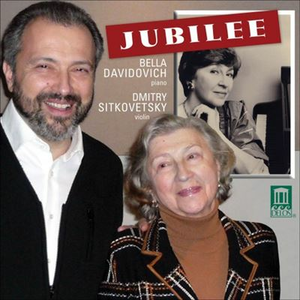 CD Bella Davidovich Jubilee Concert - Concerto per Pianoforte n.1 Op.25 di Felix Mendelssohn-Bartholdy