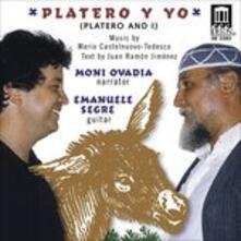 Platero Y yo - CD Audio di Mario Castelnuovo-Tedesco