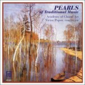 Foto Cover di Pearls of Traditional Music, CD di  prodotto da Delos