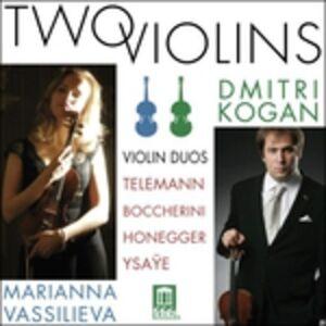 CD Opere per Violino - Duetto per Due Violini Op.5 n.1 di Luigi Boccherini