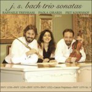 CD Sonata per Flauto Bwv1038, Trio Sonata Bwv1039, Sonata per Flauto Bwv1032 di Johann Sebastian Bach
