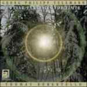 Foto Cover di Dodici Fantasie per Flauto Twv 40.2-13, CD di Georg Philipp Telemann, prodotto da Delos