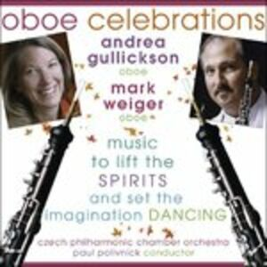 Foto Cover di Oboe Celebrations, CD di  prodotto da Delos