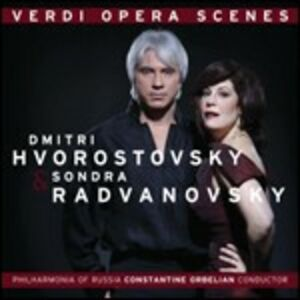 CD Verdi Opera Scenes di Giuseppe Verdi