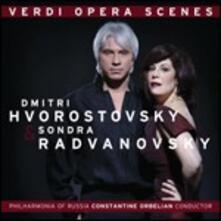 Verdi Opera Scenes - CD Audio di Giuseppe Verdi,Dmitri Hvorostovsky,Sondra Radvanovsky
