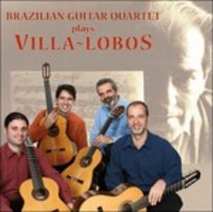 CD Quartetti per Chitarra Nn.5 e 12, Suite Floral, Cirandas di Heitor Villa-Lobos