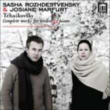 Opere per Violino e Pianoforte. Serenata Malinconica Op.26, Valse-Scherzo Op.34 - CD Audio di Pyotr Ilyich Tchaikovsky