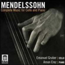 Integrale Della Musica per Violoncello e Pianoforte - CD Audio di Felix Mendelssohn-Bartholdy