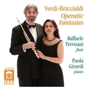 CD Fantasie per Flauto e Pianoforte su Opere di Verdi di Giulio Briccialdi