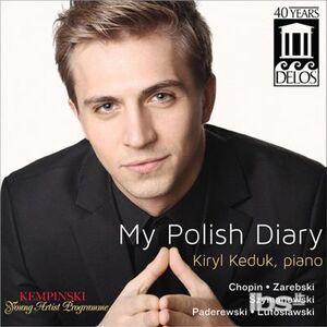 CD My Polish Diary di Fryderyk Franciszek Chopin