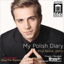 My Polish Diary - CD Audio di Fryderyk Franciszek Chopin