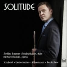 Solitude - CD Audio di Sergej Sergeevic Prokofiev,Franz Schubert,Lowell Liebermann,Magnus Johansson,Michael McHale