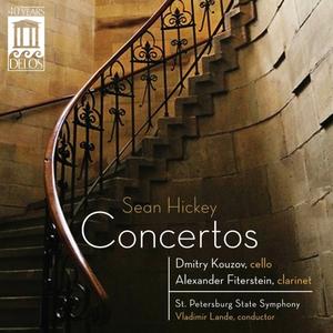 CD Concerto per violoncello - Concerto per clarinetto di Sean Hickey