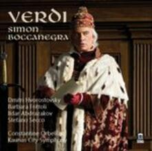 Simon Boccanegra - CD Audio di Giuseppe Verdi