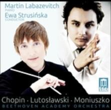 Concerto per pianoforte n.2 op.21 e altre opere - CD Audio di Fryderyk Franciszek Chopin,Witold Lutoslawski,Stanislaw Moniuszko