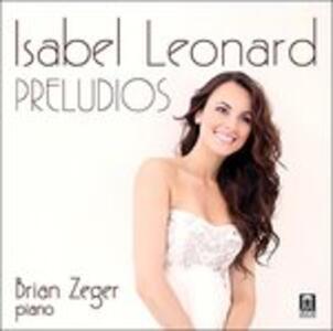 Preludios - CD Audio