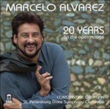 20 Years - Marcello Alvarez - CD Audio
