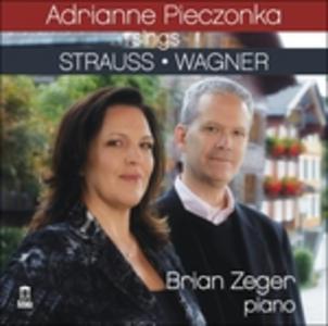 CD Lieder Richard Strauss , Richard Wagner