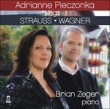 Lieder - CD Audio di Richard Strauss,Richard Wagner