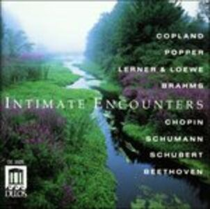 Foto Cover di Intimate Encounters, CD di  prodotto da Delos