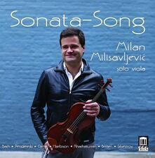 Sonata - Song - CD Audio di Johann Sebastian Bach