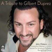 Tribute to Gilbert Duprez - CD Audio di John Osborn