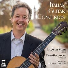 Concerti italiani per chitarra - CD Audio di Carlo Boccadoro,Emanuele Segre