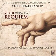 Messa da Requiem - CD Audio di Giuseppe Verdi,Yuri Temirkanov,Orchestra Filarmonica di San Pietroburgo