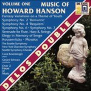Sinfonia n.2 Op.30, Fantasy-Variations on a Theme of Youth Op.40 - CD Audio di Howard Hanson,Gerard Schwarz