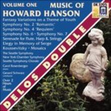 Sinfonia n.2 Op.30, Fantasy-Variations on a Theme of Youth Op.40 - CD Audio di Howard Hanson,Gerard Schwarz