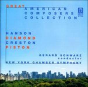 CD Musica per Romeo e Giulietta, Concerto per Piccola Orchestra di David Diamond