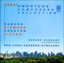 Musica per Romeo e Giulietta, Concerto per Piccola Orchestra - CD Audio di David Diamond,Gerard Schwarz