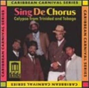CD Sing De Chorus - Calypso from Trinidad and Tobago