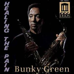 CD Healing the Pain di Bunky Green