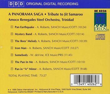 CD A Panorama Saga - Tribute to Jit Samaroo  1