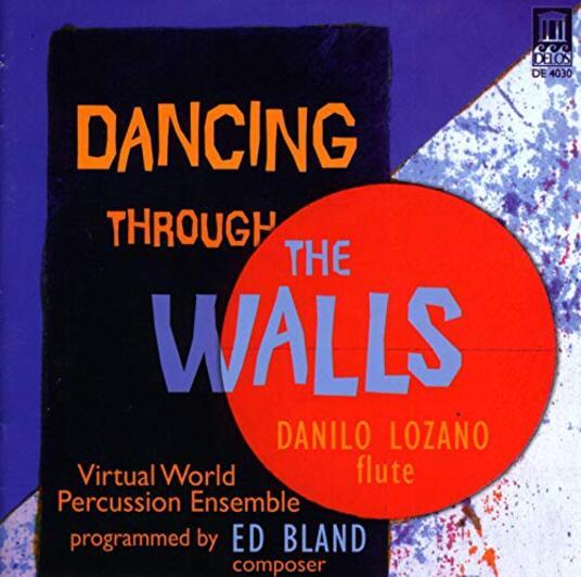 Dancing Through the Walls - CD Audio di Edward Bland