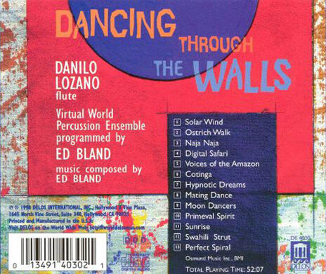 Dancing Through the Walls - CD Audio di Edward Bland - 2