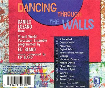 CD Dancing Through the Walls di Edward Bland 1