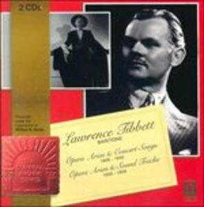CD Opera Arias and Concert Songs, 1928-1940; Opera Arias and Sound Tracks 1935-1939