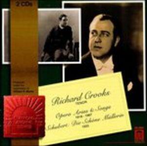 Foto Cover di Die Schöne Müllerin - Opera Arias and Songs, CD di Richard Crooks, prodotto da Delos