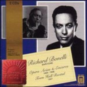 CD Opera Arias and Encores, 1934-1946; Town Hall Recital 1947