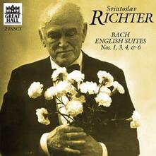 Suites inglesi n.1, n.3, n.4, n.6 - CD Audio di Johann Sebastian Bach